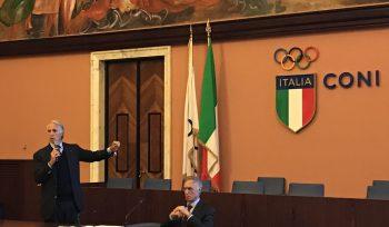 Presidente Malagò- indagine istat sport